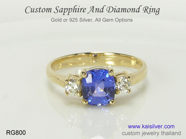 sapphire ring collection
