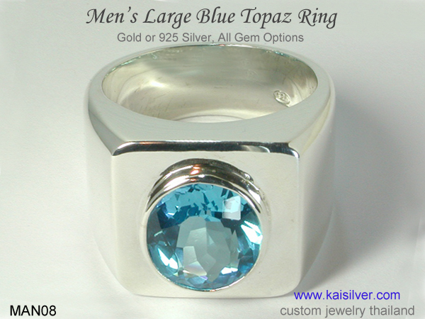gemstone rings for men Thailand