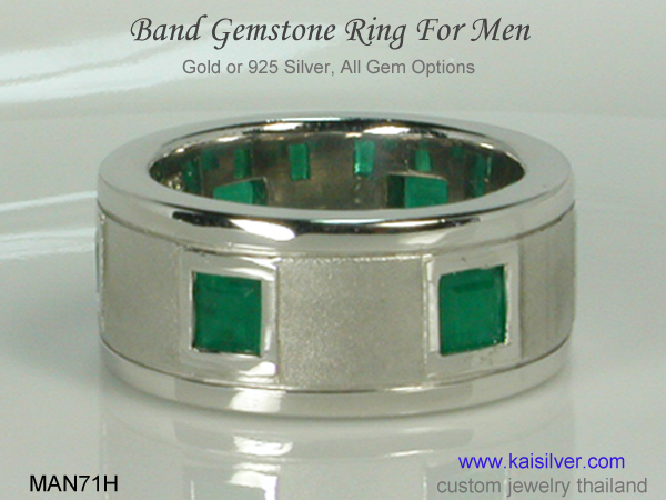 men's band rings