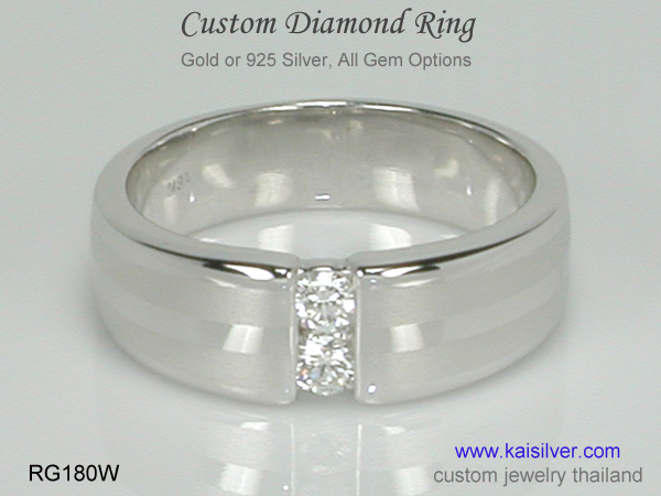 made to order diamond ring